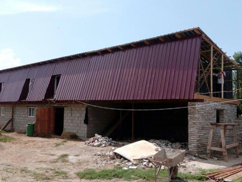 Kyrgyzstan Farm Project Summer Barn