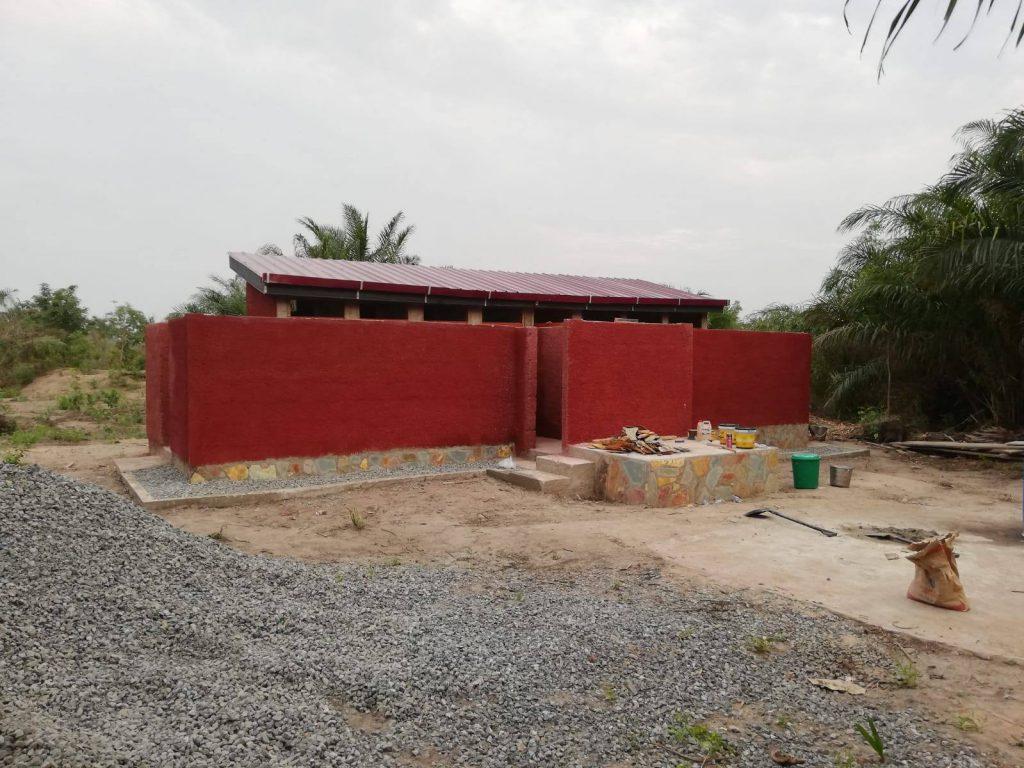 Mafi Adiekpe Dry Toilet Facilities