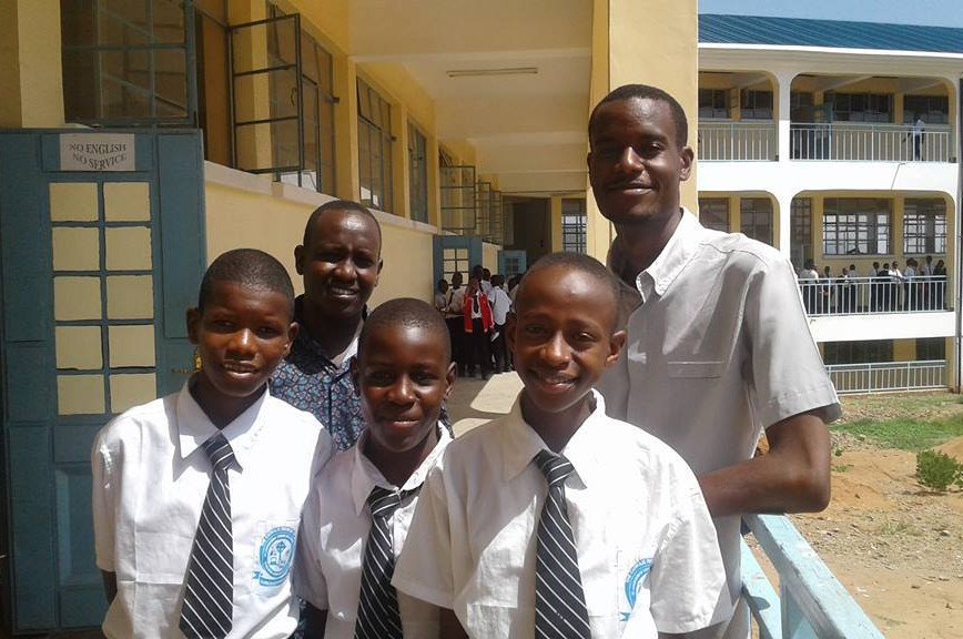 Tanzania Boarding School With Students
